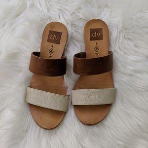 DV Mixed Media Sandals